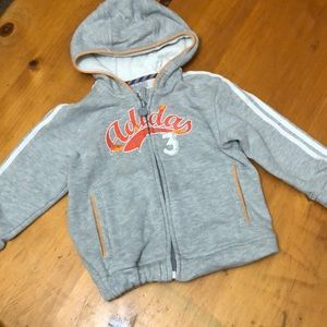 Adidas hoodie size 18 months